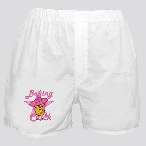 Baking Chick #8 Boxer Shorts
