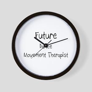 Future Dance Movement Therapist Wall Clock