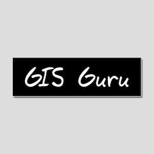 gisGuruWBST Car Magnet 10 x 3