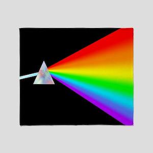 Rainbow Prism Throw Blanket