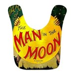 Man in The Moon Game Advertising Print Polyester B