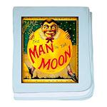 Man in The Moon Game Advertising Print baby blanke
