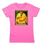 Man in The Moon Game Advertising Print Girl's Tee