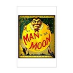 Man in The Moon Game Advertising Print Poster Prin