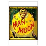 Man in The Moon Game Advertising Print Poster