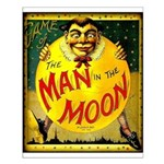 Man in The Moon Game Advertising Print Small Poste