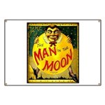 Man in The Moon Game Advertising Print Banner