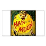 Man in The Moon Game Advertising Print Sticker