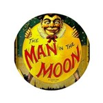 """Man In The Moon Game 3.5"""" Button (100 Pack)"""