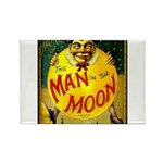 Man in The Moon Game Advertising Print Magnets