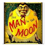Man in The Moon Game Advertising Print Square Car