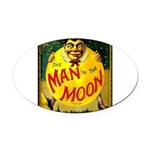 Man in The Moon Game Advertising Print Oval Car Ma