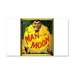 Man in The Moon Game Advertising Print Car Magnet