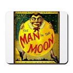 Man in The Moon Game Advertising Print Mousepad