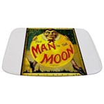 Man in The Moon Game Advertising Print Bathmat