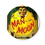 Man in The Moon Game Advertising Print Round Coast