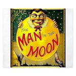 Man in The Moon Game Advertising Print King Duvet