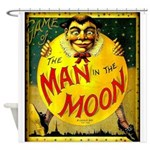 Man in The Moon Game Advertising Print Shower Curt
