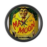 Man in The Moon Game Advertising Print Large Wall