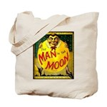 Man in The Moon Game Advertising Print Tote Bag