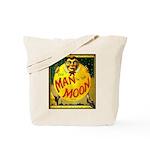 Man in The Moon Game Advertising Print Tote Bag