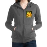 Man in The Moon Game Advertising Print Women's Zip