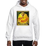 Man in The Moon Game Advertising Print Hoodie Swea