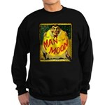 Man in The Moon Game Advertising Print Sweatshirt