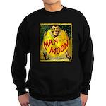 Man in The Moon Game Advertising Print Sweatshirt