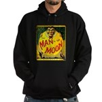 Man in The Moon Game Advertising Print Hoodie