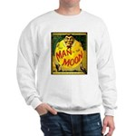 Man in The Moon Game Advertising Print Sweater