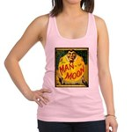 Man in The Moon Game Advertising Print Racerback T