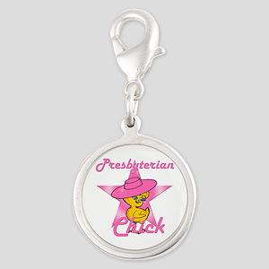Presbyterian Chick #8 Silver Round Charm