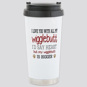 I Love You With All My Stainless Steel Travel Mug