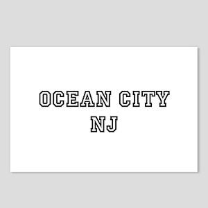 Ocean City NJ Postcards (Package of 8)