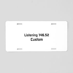 2m Simplex Calling Frequency Custom Callsign Alumi