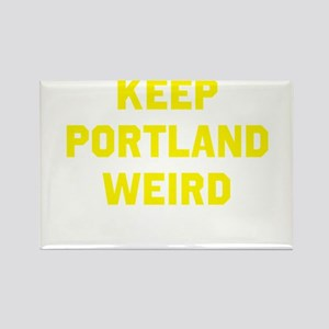 Keep Portland Weird Rectangle Magnet