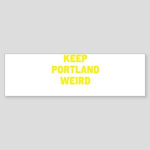 Keep Portland Weird Sticker (Bumper)