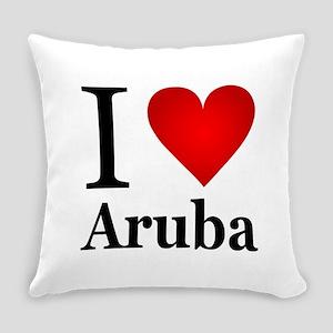 ilovearuba Everyday Pillow