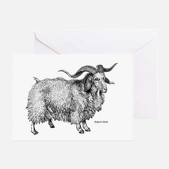 Angora Goat Greeting Cards
