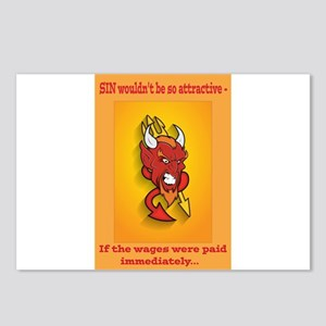 Sin Wouldn't be So Attractive if... Postcards (Pac