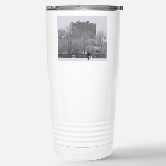 Durham Castle in Winter Mugs