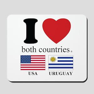 USA-URUGUAY Mousepad