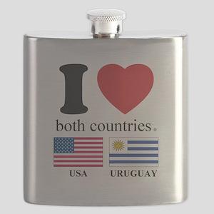 USA-URUGUAY Flask