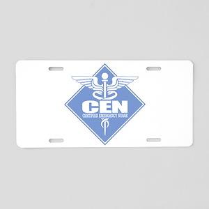 Certified Emergency Nurse Aluminum License Plate