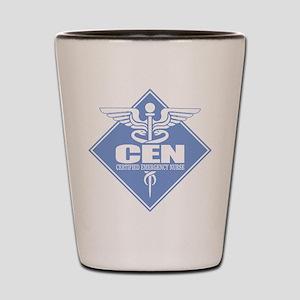Certified Emergency Nurse Shot Glass