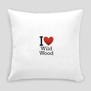 wildwood rectangle Everyday Pillow