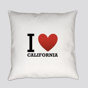 i-love-california Everyday Pillow