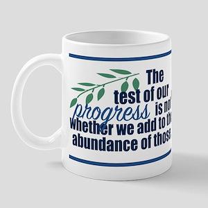 Roosevelt Quote Mug Mugs