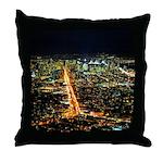 Throw Pillow San Fran At Night